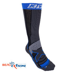 Носки KV+ Socks NORDIC STEP (long) black\grey 6U21.1